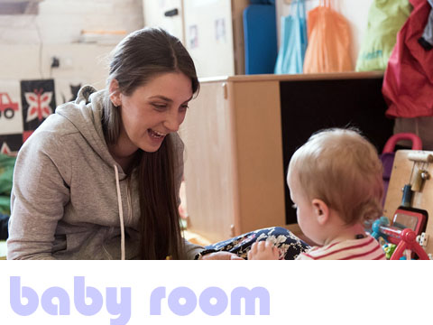 the baby room at minihome nursery in stoke newington n16